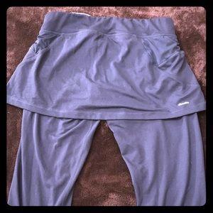 Adidas capris workout pants/skirt